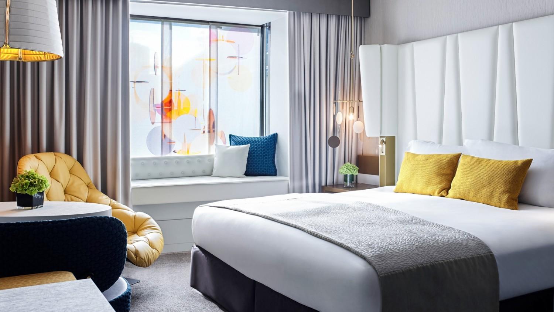 luxury zimmer sofitel munich bayerpost 5 sterne hotel. Black Bedroom Furniture Sets. Home Design Ideas