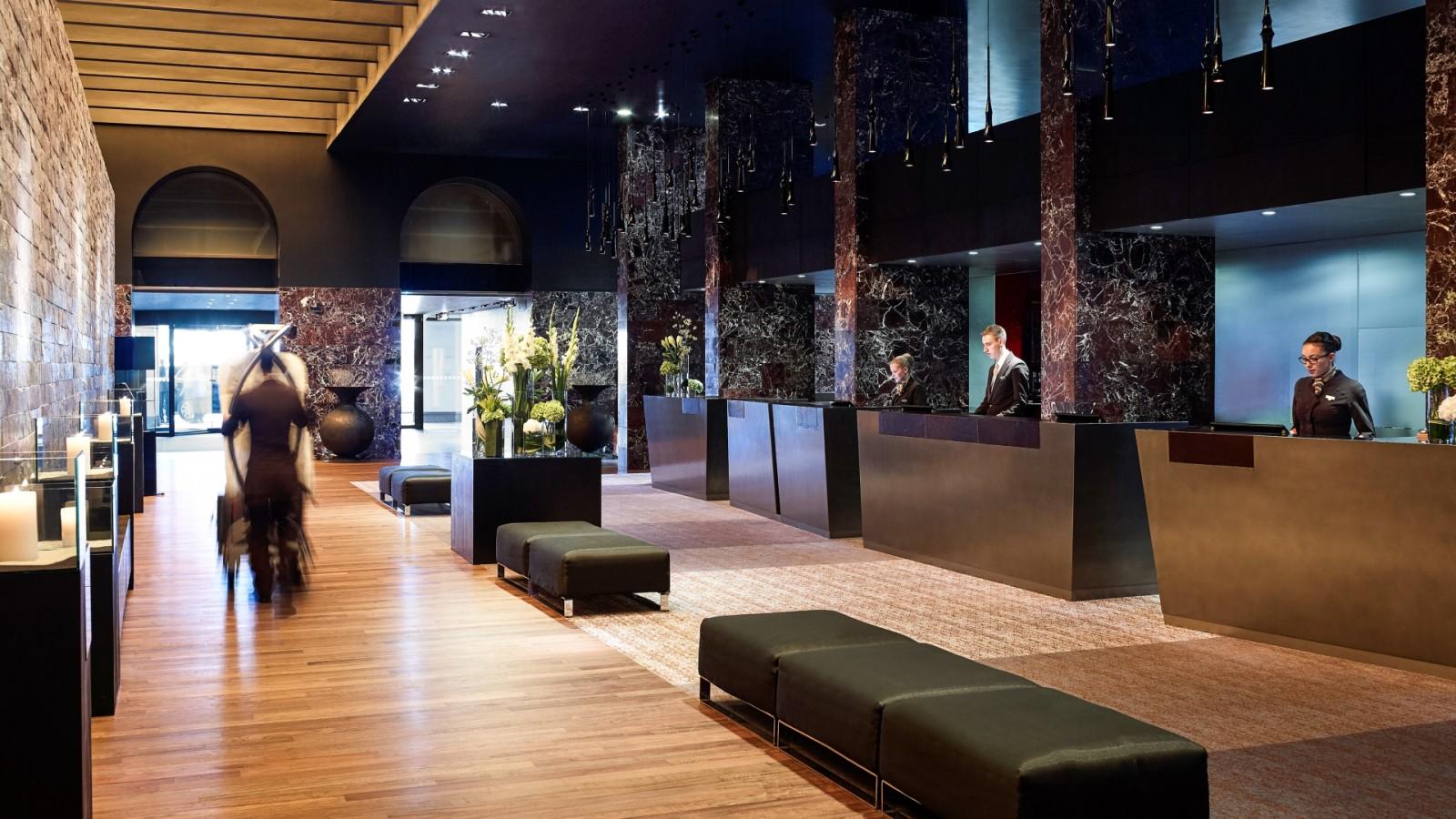 sofitel munich bayerpost lobby. Black Bedroom Furniture Sets. Home Design Ideas